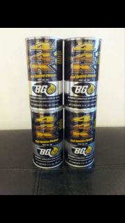 BG 44k Fuel System Cleaner SAME POWER ENHANCING FORMULA 4 CANS
