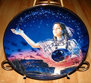 OF THE EVENING STARS David Penfound INDIAN MAIDEN Franklin Mint Plate