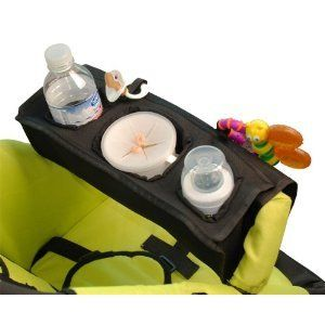 Kiddy Kaddy Stroller Snack Food Tray with Cup Holders