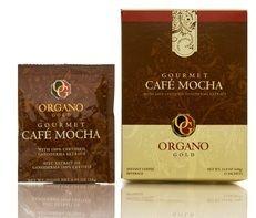 Organo Gold Cafe Coffee Mocha Gourmet 15 sachets with Ganoderma