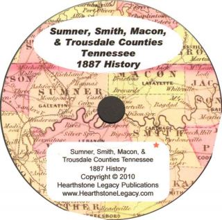 Gallatin Tennessee Genealogy History Sumner County TN