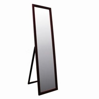 Ore Full Length Stand Mirror in Walnut N266 Walnut