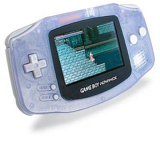 Nintendo Game Boy Advance Glacier W/ Pokemon, Nightmare, Shaun Palmer