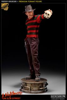 Freddy Krueger Sideshow Exclusive PF Statue Limited To 400 Elm Street