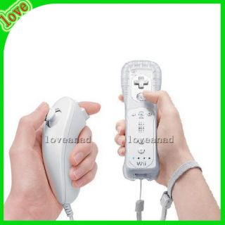 New Wii Remote and Nunchuck Controller 1 Set for Nintendo Wii Game