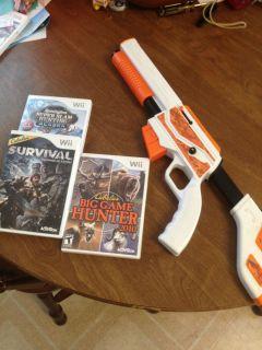 Wii game lot gun 3 Cabelas hunting games Survival Big Game Alaska
