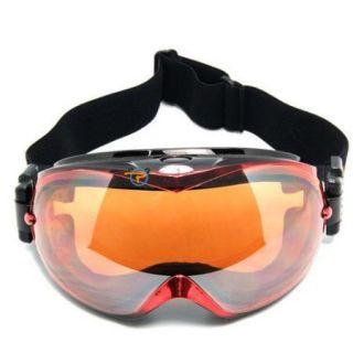 Cool Basto Anti Fog Dual Lens Sport Ski Skking Snowboard Goggles Red