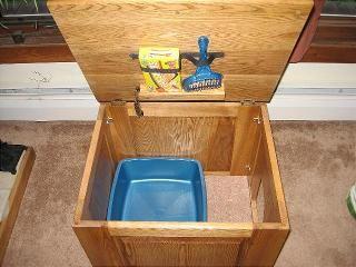 Cat Litter Concealment Cabinet Box Fine Cat Furniture