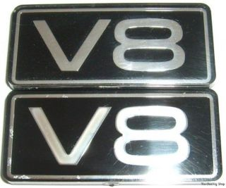 Ford Thunderbird Mercury Cougar V8 Fender Emblems Badge