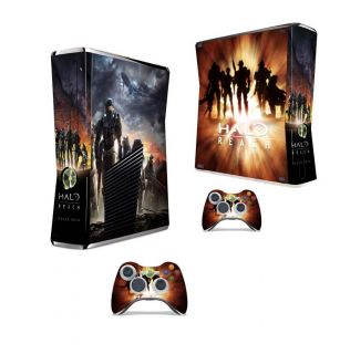 Halo Reach Vinyl Decal Game Skin Sticker for Xbox 360 Slim 2