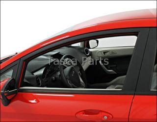 Drivers Side Front Exterior Door Moulding 2011 2013 Ford Fiesta