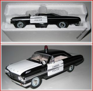 Ford Galaxie Police Car 1964 1 32 Scale Diecast Model