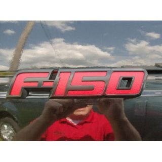 2012 12 F 150 F150 Genuine Ford Red Appearance FX4 FX2 Tailgate Emblem