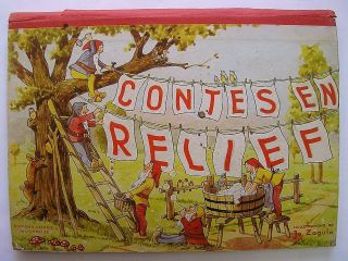 French Pop Up Book Fairy Tales Contes En Relief Zagula