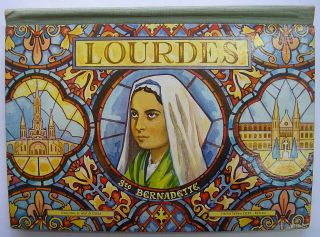 French Pop Up Book Lourdes Sainte Bernadette Zagula