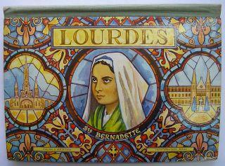 French Pop Up Book Lourdes Sainte Bernadette Zagula