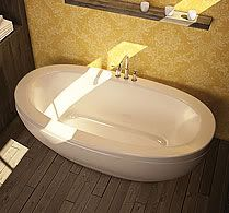 Reverie Freestanding Tub by MAAX 67 x 37 x 24 Free Shipping