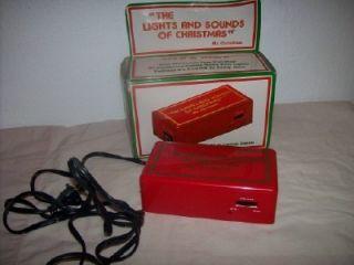 Mr Christmas Vintage 1981 The Lights and Sounds of Christmas w Box