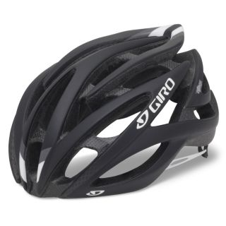 Brand New 2012 Giro atmos Matte Black Road Racing Bicycle Helmet Size