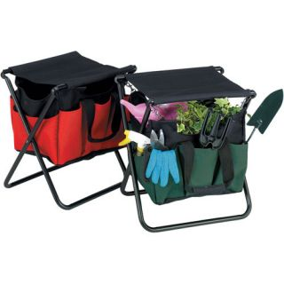 New Tool Gardening Bag with Chair 2 Color Choices