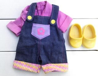 THE EXPLORER DOLL TOY OUTFIT CLOTHES SHOES GARDENER CLOTHING GARDENING