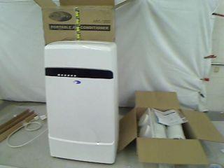 000 BTU Dual Hose Portable Air Conditioner Frost White Arc 12SD