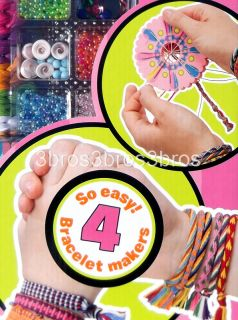 New Alex Best Friends Bands Friendship Bracelet Making Kit 2 Looms 30