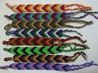 50 Friendship Bracelets 0 75 Wide Mixed Colors