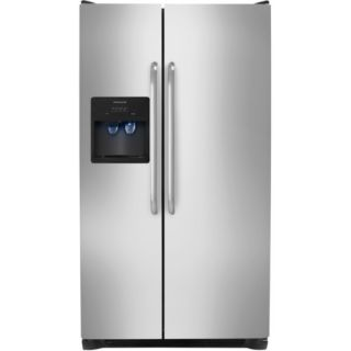 Frigidaire Stainless 26 CU ft Refrigerator FFHS2612LS