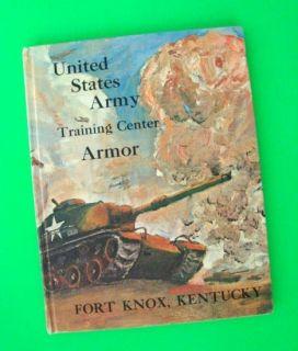 1968 FORT KNOX KENTUCKY U.S. Army Training Yearbook 06/28/68 VIETNAM