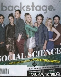 Big Bang Theory Nov 2012 Johnny Galecki Jim Parsons Kaley Cuoco