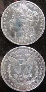 1886 O U.S. MORGAN SILVER DOLLAR HIGH GRADE   SCARCE DATE   NICE
