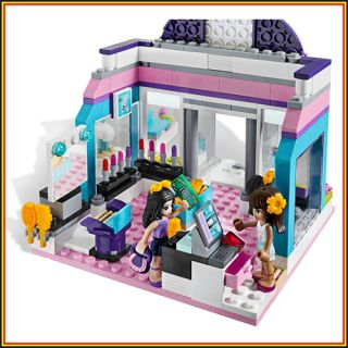 Lego Friends 3187 Butterfly Beauty Shop Sets Emma Sarah 2 Minifigures