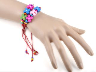 Round Beads Braid Handmade Friendship Bracelet 10 Color U Pick