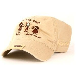 Jeff Foxworthy Dual Air Bags Mother in Law Rebel Hat