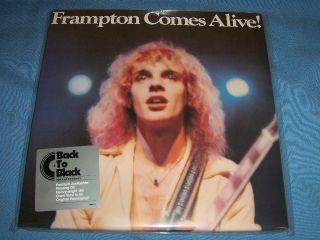 PETER FRAMPTON FRAMPTON COMES ALIVE 180 GRAM DOUBLE VINYL GATEFOLD LP