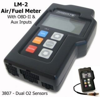 LM 2 3807 Dual Channel Digital Air/Fuel Ratio Meter   NEW!!!