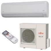 BTU 18 SEER Fujitsu Single Zone Mini Split Heat Pump System AC