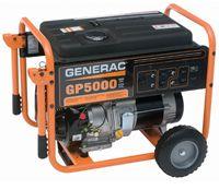 GP5000 5KW Generac Gas Generator