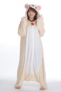 Rilakkuma Cosplay Full Body Suit KIGURUMI Bear Costume Party Costume