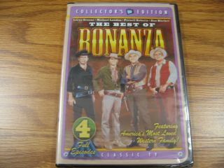 The Best of Bonanza 4 Full Episodes DVD New SEALED