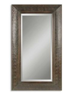 Full Length Leather Wood Wall Standing Mirror 40 5x70 5