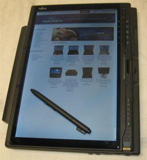 Fujitsu Lifebook T2010 Dual Core 2 Duo 1 2GHz Windows XP Pen Tablet