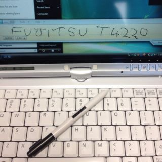 Fujitsu Lifebook T4220 Tablet PC Intel Core 2 Duo T7250 GHz 2 GHz 2 GB