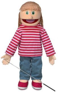 25 Pro Puppets Full Body Girl Puppet Emily