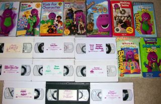VHS Barney Fun Games Once Upon A Time 100s of Other Kids Tapes U