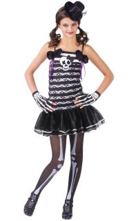 Brand New Child Skeleton Sweetie Halloween Costume 110692