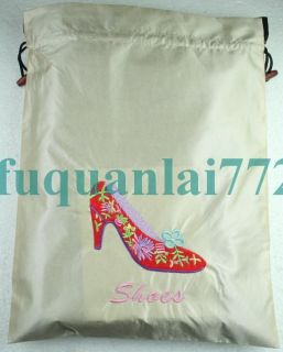 Wholesale 1pcs Handmade Satin Silk Embroider Shoes Bags 10 Color