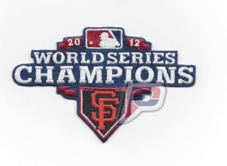 2012 San Francisco Giants Official MLB World Series Champions Logo