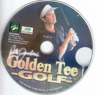 Golden Tee Golf RARE Golfing Simulation PC Game New CD $2